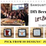 DIY Beer Signs @Lift Bridge Brewery