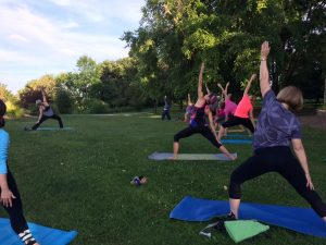 Yoga on the Bluffs
