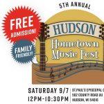 5th Annual Hudson Hometown Music Fest