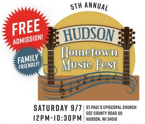 5th Annual Hudson Hometown Music Fest