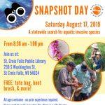 Snapshot Day Volunteer Opportunity