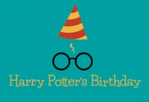 Harry Potter's Birthday Celebration