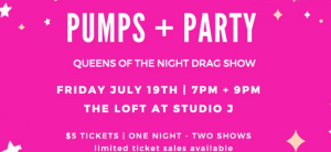 Pumps + Party!