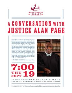 A Conversation with Justice Alan Page