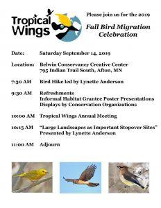 Fall Migration Celebration