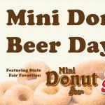 Mini Donut Beer Day