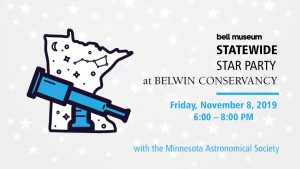 Statewide Star Party event at Belwin
