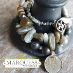 Design Your Own Artisan Stacked Bracelet Set