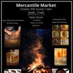 Mercantile Market Sunday Oct. 20th 1-4pm