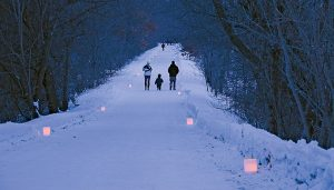Candlelight Snowshoe and Dinner - Feb 7