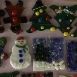 Create Fused Glass Ornaments at Holiday Open House...