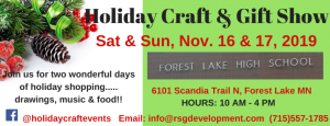 Forest Lake High School Holiday Craft & Gift Show