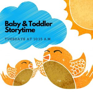 Canceled Until Further Notice: Baby & Toddler Storytime