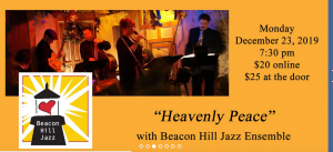 Heavenly Peace with Beacon Hill Jazz Ensemble