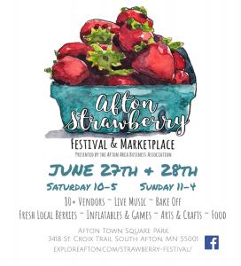 Afton Strawberry Festival & Marketplace
