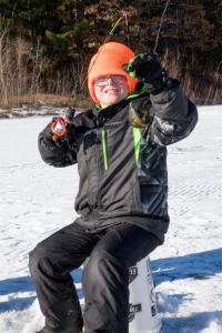 Kids Ice Fishing