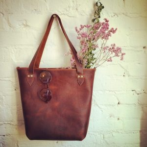 Sew a Leather Market Tote