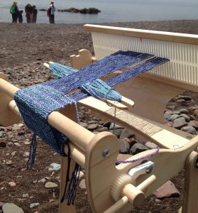 Exploring Weaving on a Rigid Heddle Loom