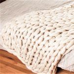 Knit Giant Chunky Blanket