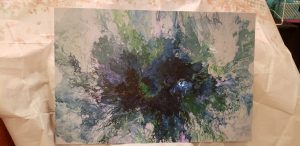 Art Painting With A Hair Dryer Class - February 15...