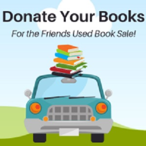 CANCELED: Friends Book Donations Drive
