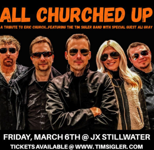 ERIC CHURCH TRIBUTE featuring the Tim Sigler Band ...