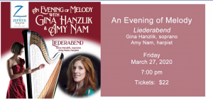 An Evening of Melody with Gina Hanzlik and Amy Nam...