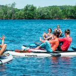 SUP Yoga on the St. Croix
