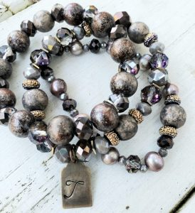 Class: Stacked Beaded Bracelets with Vintage Baubl...