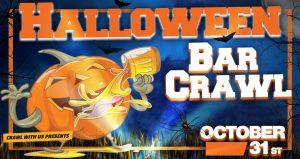 Halloween Bar Crawl - Masked Up