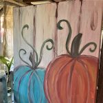 Paint & Sip - Fall Pumpkin Décor Class