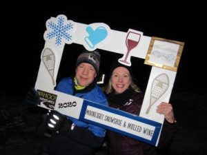 Moonlight Snowshoe & Mulled Wine @ the Chateau...