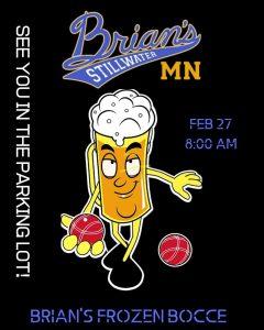 Brian's Frozen Bocce Ball Tournament