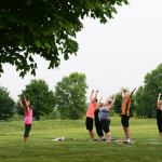 Morning Yoga in the Park