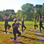 Sunset Yoga in the Park