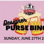 Designer Purse Bingo at Lift Bridge Brewery
