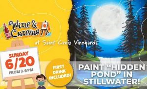 Wine and Canvas Painting Party!