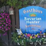 Beer Garden in the Pines at the Gasthaus