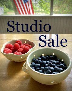 Emily Schollett Pottery Pop up Studio Sale