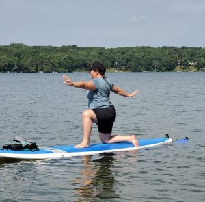 SUP Yoga at Square Lake Park