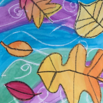 Fall Leaves on Water - Art for Kids (in person)