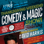 Special Thanksgiving Weekend Event--Dinner & A...