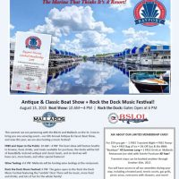 Antique & Classic Boat Show + Rock the Dock Music Festival!