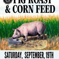 Pig Roast and Corn Feed