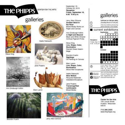 The Galleries: September 18 - October 25