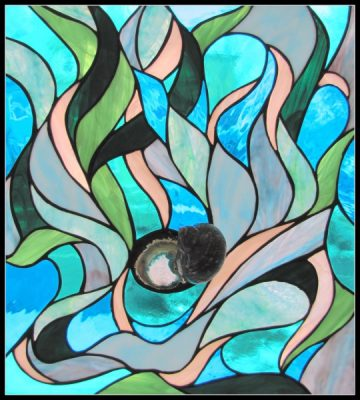 Stained Glass Design - Tiffany Style