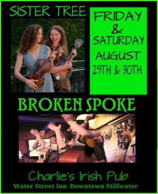 Live Irish Music: Sister Tree and Broken Spoke