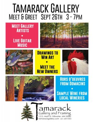 Tamarack Gallery Meet and Greet