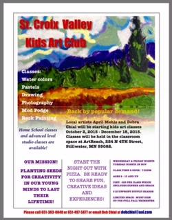 St. Croix Valley Kids Art Club