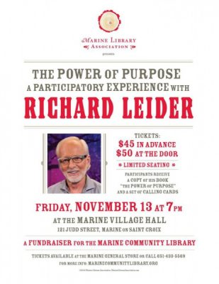 Richard Leider Presentation and Participatory Experience